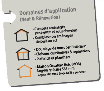 domaine application chanvre biofib trio