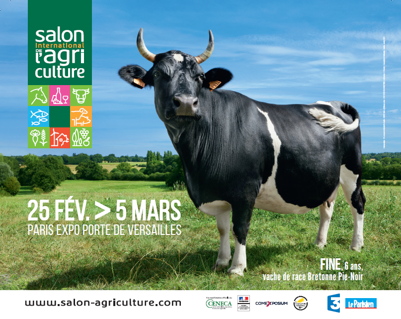 affiche salon international agriculture 25 fevrier au 5 mars 2017