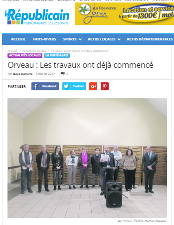 mairie orveau renovation laine de chanvre gatichanvre le republicain article
