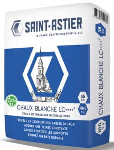 chaux pure blanche lc nhl